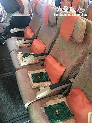 阿聯酋航空A380座椅又大又好坐