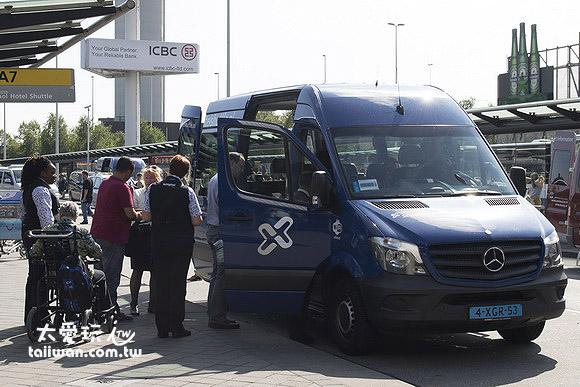 阿姆斯特丹機場Shuttle Bus