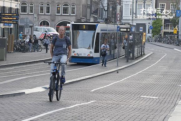 阿姆斯特丹的單車族