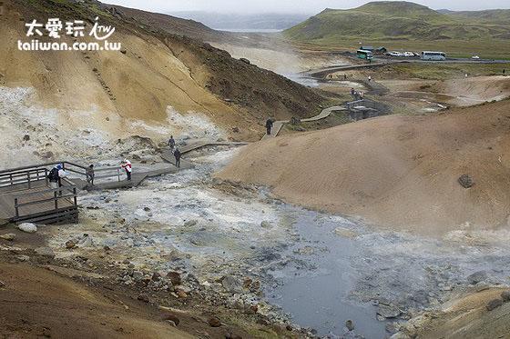 Krýsuvík與Seltún是溫泉蛋聖地