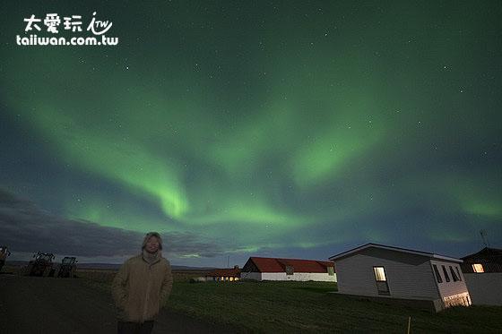 冰島的極光是我最棒的生日禮物