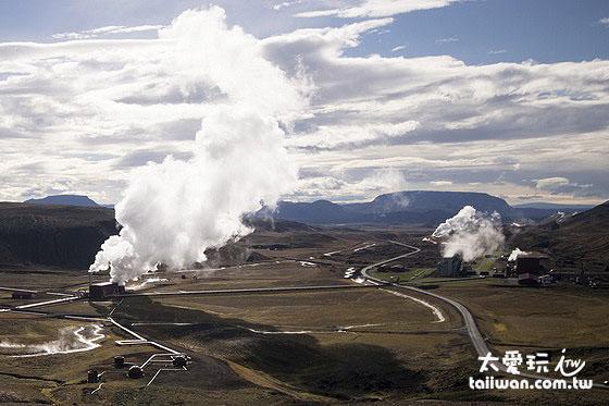 地熱發電廠