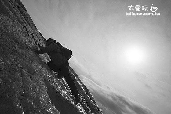 超級冰河攀爬大挑戰!