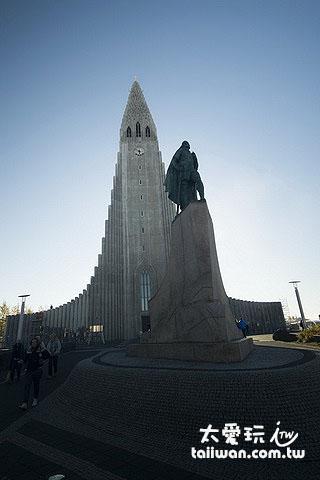 哈爾格林姆教堂(Hallgrímskirkja)是冰島首都的地標之一