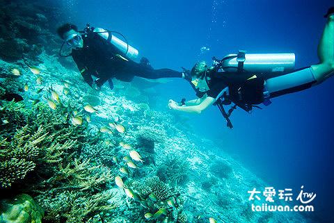水肺潛水旅遊