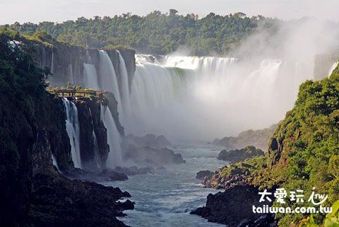 世界最大的伊瓜蘇瀑布