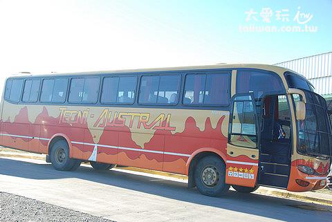 阿根廷旅遊搭乘長程旅遊巴士