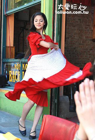 Caminito傳統舞蹈表演