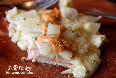 La Lechuza餐廳的Pizza簡單又美味
