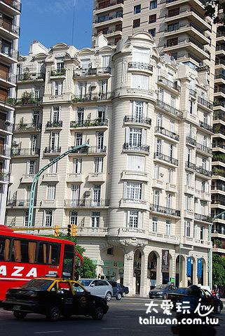 布宜諾愛麗斯的高級住宅區