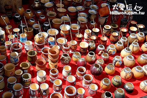 San Telmo假日市集馬黛茶具