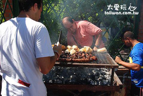 San Telmo假日市集烤肉攤