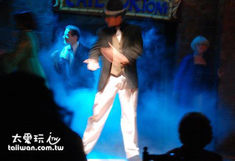 Caf e Tortoni的Tango Show表演非常精彩