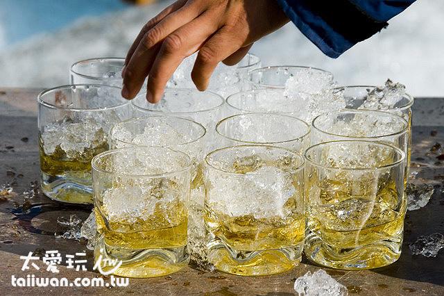 行程最後的萬年冰塊威士忌好喝到沒話說