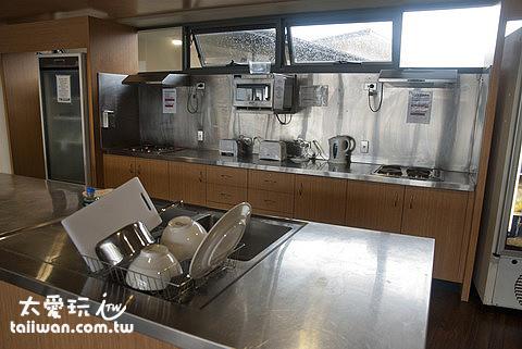 住宿飯店廚房供房客使用