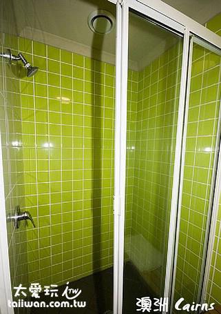 淋浴間也很乾淨