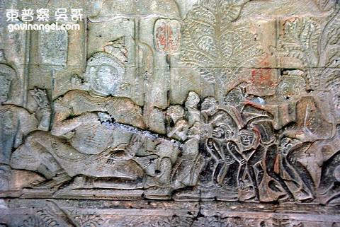 壁畫浮雕 Yama(閻摩)