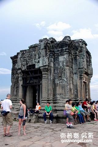 寺廟中的主塔