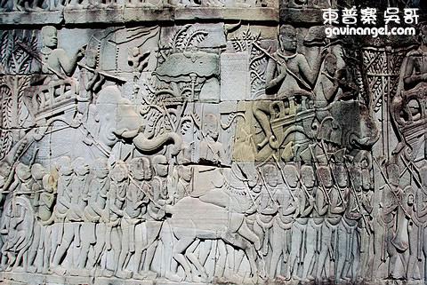 高棉軍隊行軍