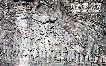 留著山羊鬍的中國軍隊