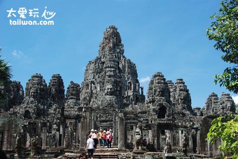 吴哥窟各个景点位于暹粒Siem Reap小镇的北方
