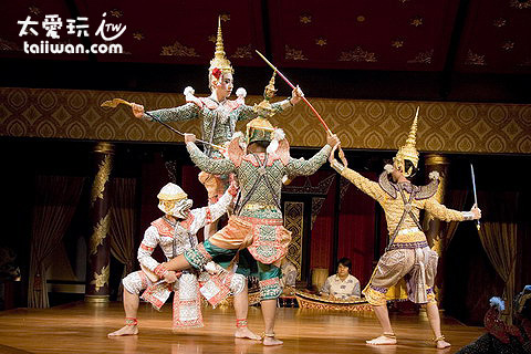 泰國舞蹈中的羅摩耶那(Ramayana)與