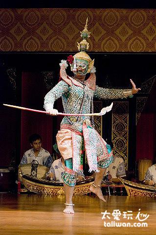 泰國舞蹈中的魔王拉伐那