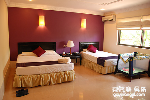 The Villa Siem Reap三人房
