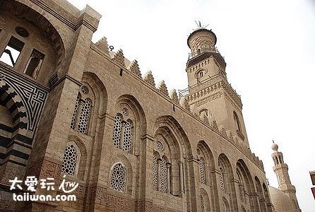 哈利利市場(Khan al-khalili)附近建築