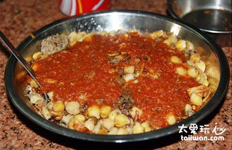 埃式義大利肉醬麵(Kushari)