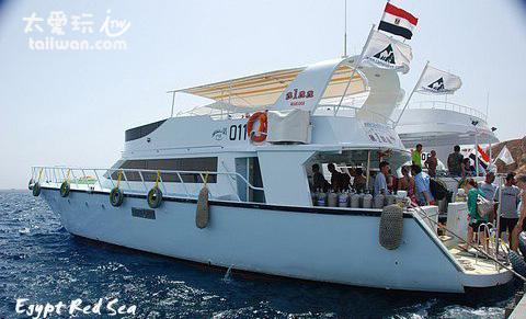 Sharm el-Sheikh 的潛水活動以船潛為主
