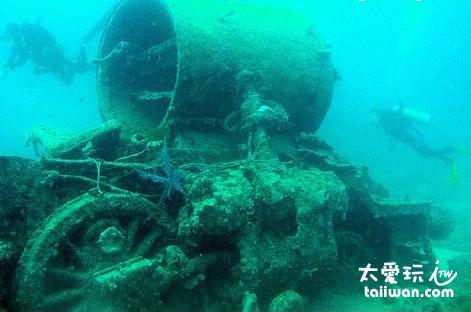 二次世界大戰沈船