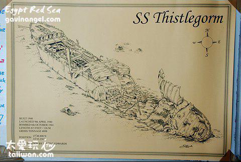 The Thistlegorm 沉船