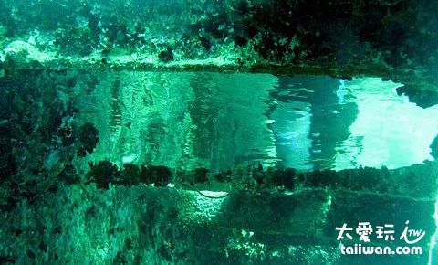 水下的鏡子