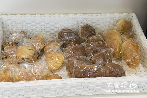 簡單的麵包但味道不錯
