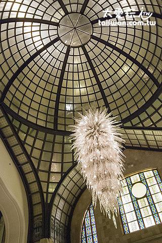 布達佩斯四季飯店大廳水晶燈