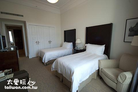布達佩斯格雷沙姆宮四季飯店雙床房