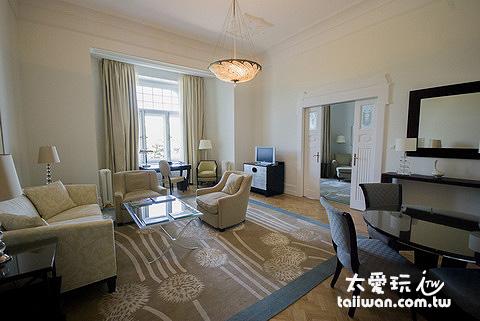 布達佩斯格雷沙姆宮四季飯店套房