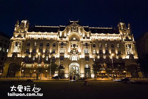 布達佩斯格雷沙姆宮四季飯店Gresham Palace