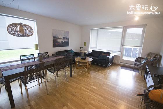 Akureyri Holiday Apartments阿庫雷裡度假公寓現代風格裝潢