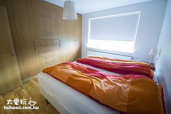阿庫雷裡度假公寓雙人房