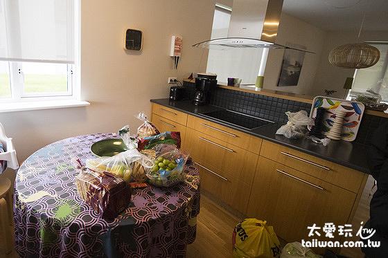 阿庫雷裡度假公寓廚房設備齊全