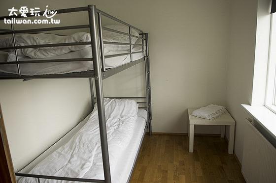 米卡薩公寓- Downtown Akureyri單床雙人房