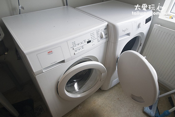米卡薩公寓- Downtown Akureyri公用洗衣間
