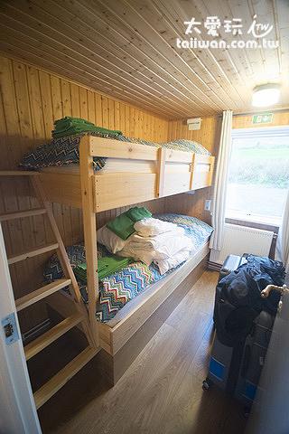 希爾瓦度假屋的單床雙人房