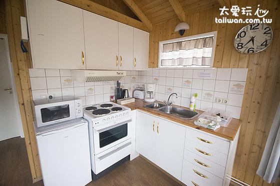 希爾瓦度假屋的廚房設備也很齊全