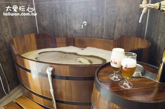 Bjórböðin啤酒浴