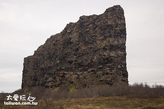 我非常喜歡的阿斯匹吉峽谷Ásbyrgi巨牆