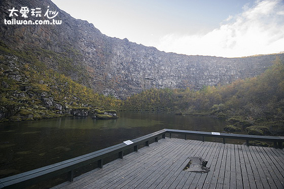 Botnstjörn湖泊寧靜優美