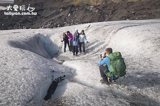 Glacier Guides冰河健行非常熱門